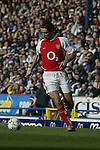Robert Pires of Arsenal - Blackburn Rovers v Arsenal - Premier League - Ewood Park Stadium - Blackburn - 15th March 2003 - Pics Simon Bellis