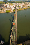 Aerial View of the Hawthorne Bridge