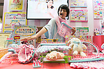 An exhibitor gives an demonstration of a Girls Toy Award winner ''Love Ami basic set'' of Agatsuma at the International Tokyo Toy Show 2016 in Tokyo Big Sight on June 9, 2016, Tokyo, Japan. The annual exhibition showcases some 35,000 toys from 160 toy makers from Japan and overseas. The show runs to June 12th and organisers expect to attract 160,000 visitors. (Photo by Rodrigo Reyes Marin/AFLO)