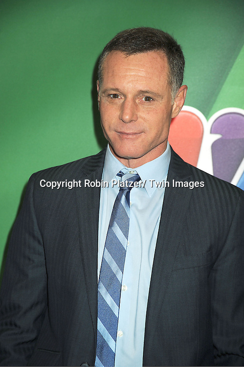 "Jason Beghe  of "" Chicago PD"" arrives at the NBC Upfront Presentation for 2013-2014 Season on May 13, 2013 at Radio City Music Hall in New York City."