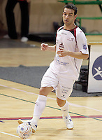 Caja Segovia's Jose Carlos Lopez during Spanish National Futsal League match.November 24,2012. (ALTERPHOTOS/Acero) /NortePhoto