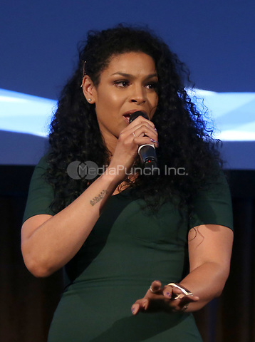 BEVERLY HILLS, CA - March 21: Jordin Sparks, At Generosity.org Fundraiser For World Water Day_Inside At Montage Hotel In California on March 21, 2017. Credit: FS/MediaPunch