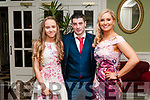 North Kerry Harriers Social : Attending the North Kerry Harrier annual Social at the Listowel Arms Hotel on Saturday night last were Jessica Stack, Shane Tierney & Amy Carmody.