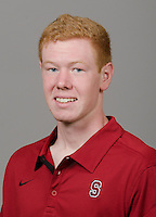 STANFORD, CA - September 27th, 2011: Stanford athlete portrait.