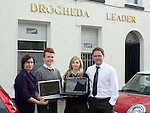Elaine Grennan and Gordon Hatch presenting prizes to David Stephenson and Karen Hutcheson, winners of the Journalism Competition...Photo NEWSFILE/Jenny Matthews.(Photo credit should read Jenny Matthews/NEWSFILE)....This Picture has been sent you under the condtions enclosed by:.Newsfile Ltd..The Studio,.Millmount Abbey,.Drogheda,.Co Meath..Ireland..Tel: +353(0)41-9871240.Fax: +353(0)41-9871260.GSM: +353(0)86-2500958.email: pictures@newsfile.ie.www.newsfile.ie.FTP: 193.120.102.198.