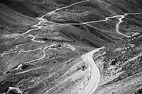 for those trailing behind it can be a lonely descent off the Col du Tourmalet (HC/2115m/17km/7.3%)<br /> <br /> st11: Pau - Cauterets (188km)<br /> 2015 Tour de France