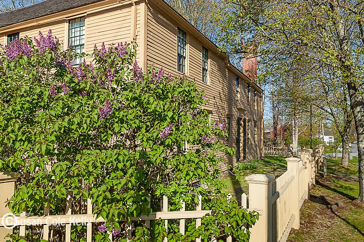 The Emerson-Wilcox House in York Village, Maine, USA