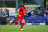 Connor Randall of Liverpool during the 2016/17 Pre Season Friendly match between Tranmere Rovers and Liverpool at Prenton Park, Birkenhead, England on 8 July 2016. Photo by PRiME Media Images.