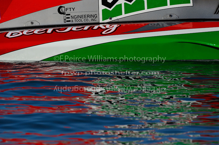 "Reflecting upon the water. U-1 ""Oh Boy! Oberto"""