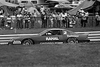 WATKINS GLEN, NY - AUGUST 9: Bobby Rahal drives a Chevrolet Camaro Z28 during Round 4 of the 1986 IROC series on August 9, 1986, at Watkins Glen International near Watkins Glen, New York.