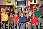 B'day Celebrations, Tom Sayers held his party at Con Dillons Bar, Listowel on Friday. Pictured are: Nora and Charlie O' Brien, John Denihan, Cathleen O' Donnell, Tom Sayers, Catriona O' Donnell, Noreen and Chris Brennan Back: Ciara Griffin, Dino Downey, Andrea Mahony, Jill O' Connor, Dublin Joe, Noel Hart, Helen McCarthy, Adhlin Griffin.