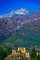 The Drukgyel Dzong, Paro Valley, Bhutan