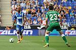 League Santander 2017-2018 - Game: 2<br /> RCD Espanyol vs CD Leganes: 0-1.<br /> Naldo vs Omar Ramos.
