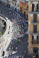 Cyclist riders during  the first stage of 96° Giro d''italia cycling race in Naples . NAPOLI 04/05/2013 PRIMA TAPPA  CIRCUITO NAPOLI 968 GIRO D'ITALIA.