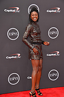 Tori Bowie at the 2018 ESPY Awards at the Microsoft Theatre LA Live, Los Angeles, USA 18 July 2018<br /> Picture: Paul Smith/Featureflash/SilverHub 0208 004 5359 sales@silverhubmedia.com