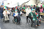 Grand Marshall Oliver Murphy at the 2010 St Patrick's Day Parade...Photo NEWSFILE/Jenny Matthews.(Photo credit should read Jenny Matthews/NEWSFILE)....This Picture has been sent you under the condtions enclosed by:.Newsfile Ltd..The Studio,.Millmount Abbey,.Drogheda,.Co Meath..Ireland..Tel: +353(0)41-9871240.Fax: +353(0)41-9871260.GSM: +353(0)86-2500958.email: pictures@newsfile.ie.www.newsfile.ie.FTP: 193.120.102.198.