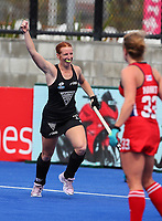 Alia Jaques during the Pro League Hockey match between the Blacksticks women and the USA, Nga Punawai, Christchurch, New Zealand, Sunday 16 February 2020. Photo: Simon Watts/www.bwmedia.co.nz
