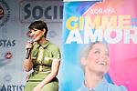 Singer Soraya Arnelas during the presentation of her new single 'Gimme tu love'. January 09 2020. (Alterphotos/Francis Gonzalez)