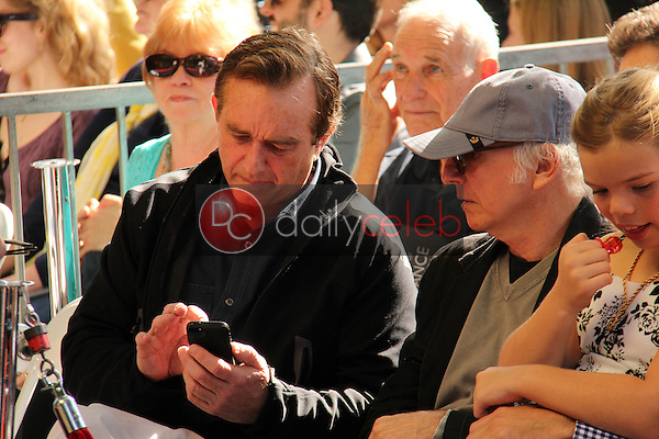 Robert F. Kennedy Jr., Larry David<br />