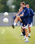 James McFadden at training