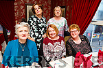 Enjoying the evening out in Cassidys on Saturday<br /> Seated l to r: Elizabeth Brosnan (Listowel), Pauline Waters and Marion Walsh (Listowel).<br /> Back l to r: Sheila McAuliffe and Ruth Dillion.