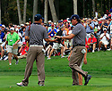 ANTHONY KIM of the US Ryder Cup Team & PHIL MICKELSON of the US Ryder Cup Team during the saturday foursomes of the 37th Ryder Cup Matches, September 16 - 21, 2008 played at Valhalla Golf Club, Louisville, Kentucky, USA ( Picture by Phil Inglis ).... ......