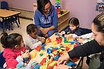 Education Preschool Head Start Early Learn 2s Program teachers and   children in class