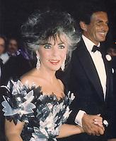 Elizabeth Taylor & George Hamilton 1986 NYC By Jonathan Green