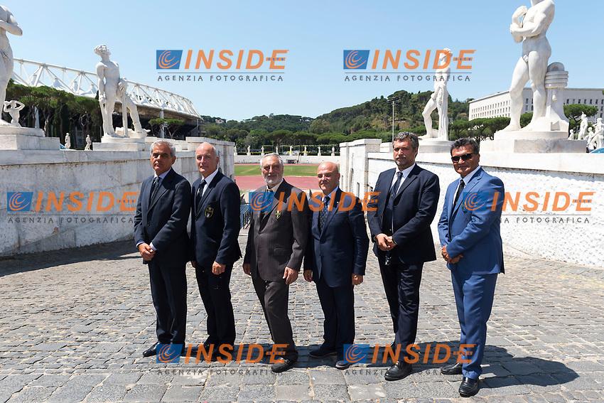 Comitato Organizzatore Roma 2017 <br /> Roma 22-06-2017 Coni Salone d'onore <br /> Conferenza stampa di presentazione della finale Coppa del mondo tiro con l'arco <br /> Foto Andrea Staccioli / Insidefoto / Fitarco