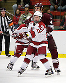 Luke Greiner (Harvard - 24), Corbin McPherson (Colgate - 4) - The Colgate University Red Raiders defeated the Harvard University Crimson 4-2 (EN) on Saturday, February 20, 2010, at Bright Hockey Center in Cambridge, Massachusetts.