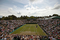 Wimbledon, 27/6/2014<br /> <br /> AMBIENCE<br /> <br /> &copy; Ray Giubilo/ Tennis Photo Network