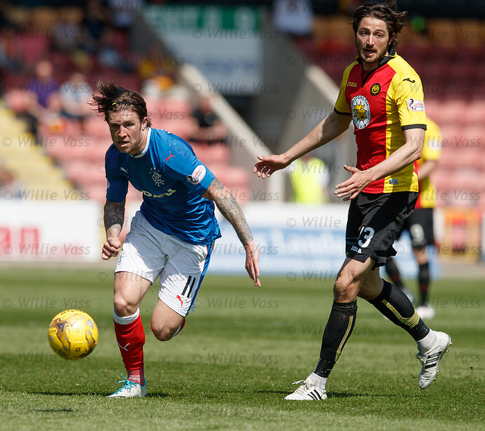 Josh Windass and Adam Barton