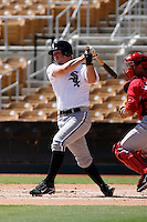 Brent Morel - Chicago White Sox 2009 Instructional League. .Photo by:  Bill Mitchell/Four Seam Images..