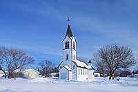 St. George Romanian Orthodox Church<br /> Dysart<br /> Saskatchewan<br /> Canada