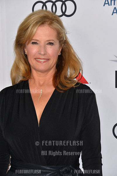"""LOS ANGELES, CA. November 10, 2018: Nancy Travis at the AFI Fest 2018 world premiere of """"The Kominsky Method"""" at the TCL Chinese Theatre.<br /> Picture: Paul Smith/Featureflash"""