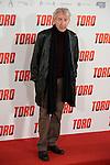 "Jose Sacristan attends to the presentation of the spanish film ""Toro"" at Hotel Hesperia in Madrid, April 19,2016. (ALTERPHOTOS/Borja B.Hojas)"