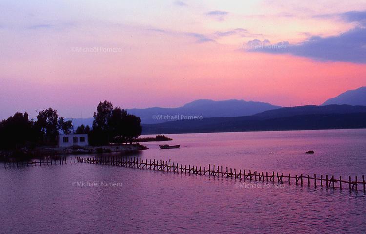 2002 Turkey<br /> <br /> Landscape near the lake.<br /> <br /> Paysage pr&egrave;s du lac.