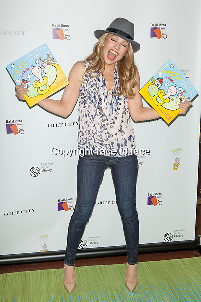 Thalia celebrates the launch of her new children's book 'Chupie: The Binky That Returned Home' at The New York Public Library on November 6, 2013 in New York City. <br />Credit: MediaPunch/face to face<br />- Germany, Austria, Switzerland, Eastern Europe, Australia, UK, USA, Taiwan, Singapore, China, Malaysia, Thailand, Sweden, Estonia, Latvia and Lithuania rights only -