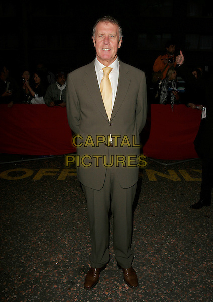 SIR GEOFF HURST.Arrivals - Greatest Britons 2007 Awards Show, .The London Studios, London, Engand, May 21st 2007. .full length yellow tie suit.CAP/AH.©Adam Houghton/Capital Pictures.