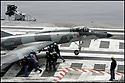 -Mer Méditerranée- Porte Avions Charles de Gaulle- Super Etendard.