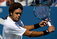 Jo-Wilfried Tsonga (FRA) (7) against Chase Buchanan (USA) in the first round. Tsonga beat Buchanan 6-0 6-2 6-1 ..International Tennis - US Open - Day 1 Mon 31 Aug 2009 - USTA Billie Jean King National Tennis Center - Flushing - New York - USA ..Frey,  Advantage Media Network, Barry House, 20-22 Worple Road, London, SW19 4DH