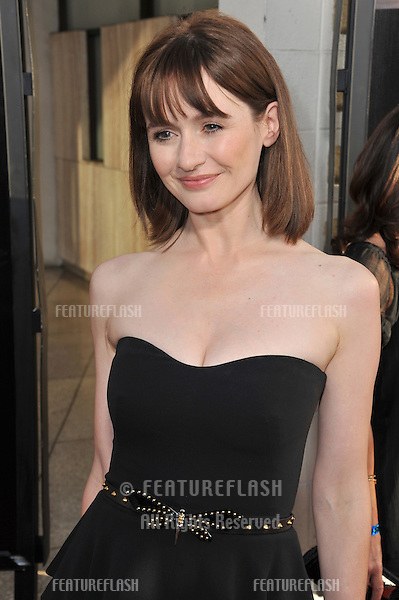 "Emily Mortimer at the Los Angeles premiere for HBO's new series ""The Newsroom"" at the Cinerama Dome, Hollywood..June 21, 2012  Los Angeles, CA.Picture: Paul Smith / Featureflash"