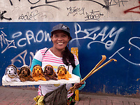 A Street vendor in Cebu City, Philippines