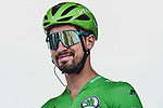 Green Jersey holder Peter Sagan (SVK) Bora-Hansgrohe at sign on before Stage 4 of the 2019 Tour de France running 213.5km from Reims to Nancy, France. 9th July 2019.<br /> Picture: ASO/Pauline Ballet | Cyclefile<br /> All photos usage must carry mandatory copyright credit (© Cyclefile | ASO/Pauline Ballet)