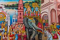Dwarkadheesh (Hindu) Temple, Mathura, Uttar Pradesh, India