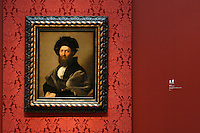 """Portrait of Baldassare Castiglione"" by Raphael in the Anne Cox Chambers Wing of the High Museum of Art. Over the next three years, the High Museum will feature hundreds of works of art from the Musée de Louvre."