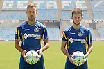 20150706. Getafe's new players Juan Cala and Alvaro Medran.
