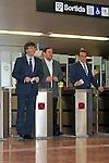 Inauguracion metro L9 de Barcelona hasta la T1 del Aeropuerto de El Prat de Llobregat.