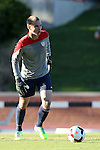 24 May 2014: USA Under-20's Jeff Caldwell. The Under-20 United States Men's National Team played a scrimmage against the Wilmington Hammerheads at Dail Soccer Field in Raleigh, North Carolina. Wilmington won the game 4-2.
