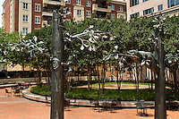 Photography of the At Peace, At Play sculpture in Charlotte, North Carolina.<br /> <br /> Charlotte Photographer -PatrickSchneiderPhoto.com
